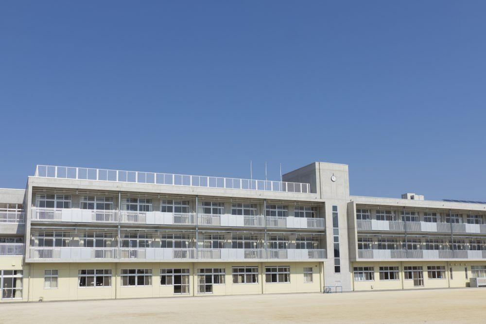 アスファルト防水に適している建物の写真が入ります。