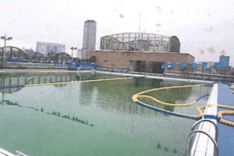 東京都渋谷区の都立第一商業高校プール改修工事サムネイル