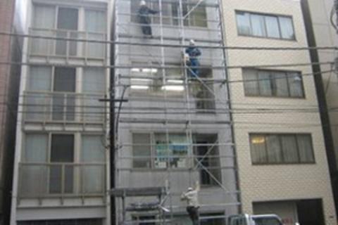 東京都中央区の大島ビル屋上防水・外壁塗装工事サムネイル